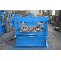 Wholesale Galvanized Steel Floor Deck Roll Forming Machine With Coiler Car ,  Floor Tile Making Machine from china suppliers
