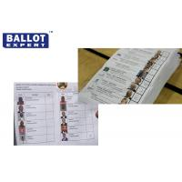 Wholesale Disposable 70g Voting Ballot Paper Color Customized For Election Campaign from china suppliers