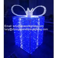 Wholesale outdoor led christmas gift boxes from china suppliers