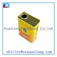 Quality cooking oil tin can for sale