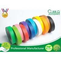 Wholesale High flexibility Rainbow Coloured Masking Tape For Painting , Easy To Remove from china suppliers