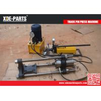 Wholesale 100T Portable hydraulic removal and installation tools track master pin pusher machine from china suppliers