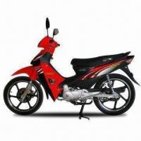 Wholesale Asian Tiger 110cc Cub Motorcycle with 80kph Maximum Speed, Alloy Wheels and Front Disc Brake from china suppliers