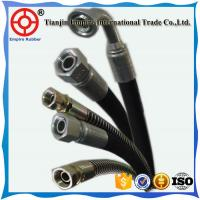 Wholesale Hydraulic jack  DIN EN853 1 1/4'' inch steel wire spiral hydraulic rubber hose from china suppliers