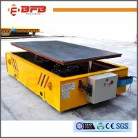Wholesale Platform Structure Large Capacity Battery Powered Rail Lifting Trailer from china suppliers