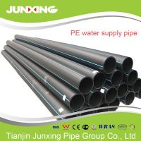 Wholesale 110-400mm HDPE pipe&fitting virgin PE100 superior material pipe hdpe for water supply from china suppliers
