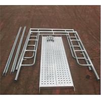 Buy cheap Aluminum Ladder Frame Scaffolding System High Strength For Building Construction from wholesalers