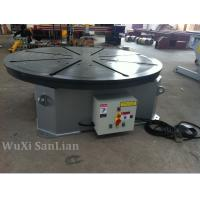 Wholesale Horizontal Welding Positioner Turntable 0.25kw UK Motor 1200mm Table Diameter from china suppliers