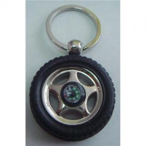 China Novelty key chain/car key chain/key chain like a Tire on sale