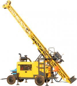 Quality HWL Drilling Depth 1000m  Wheel Trailer Hydraulic Core Drilling Machine for sale