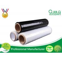 Wholesale Custom Stretch Black Pallet Wrap Film 1-100mic Thickness For Food / Glass Package from china suppliers