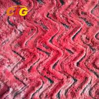 Buy cheap Decorative Polyester Fake Fur For Car Seat Cover  / Shoes/ Garments 150CM Width from wholesalers