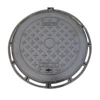 Wholesale Durable Ductile Round Cast Iron Manhole Cover For Road Construction from china suppliers