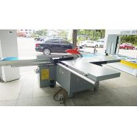 Quality Tiltable Blade Plywood Saw Cutting Machine , Industrial Panel Saw Machine 9000r / Min for sale