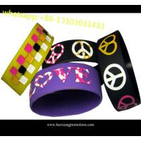 Wholesale Professional Cheap Custom Silicone Wristband,Cheap Custom Silicone bracelet from china suppliers
