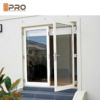 Interior Aluminium Hinged Doors With Double Low E Glass For Residential House for sale