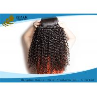 Wholesale Unprocessed Virgin Brazilian Hair Extension 100g Kinky Curl Human Hair Weft from china suppliers