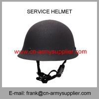Buy cheap Wholesale Cheap China Military Steel Army Police Bulletproof Service Helmet from wholesalers