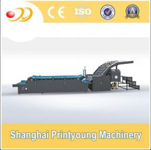 China Semi Automatic Flute Laminating Machine For 350gsm Paper Cardboard Corrugated Box on sale