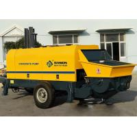 China Truck Mounted Concrete Pumping Equipment Electric Engine Type CE ISO Approved on sale