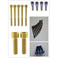 Wholesale Ti-6Al-4V Gr5 ti6al4v M5 x 20 Titanium Stem Bolts specialized for MTB from china suppliers