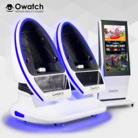 Wholesale Owatch-Varied Special Effects Double Seats VR DPVR E3 (2K) Glasses VR Cinema Amusement Equipment 9D VR Chair from china suppliers