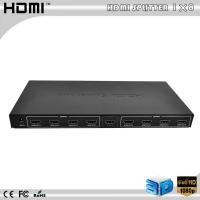 Wholesale 1080P 8-Port V 1.4 Mini HDMI Splitter Amplifier 8 Way Output HDTV DVD Adapter from china suppliers