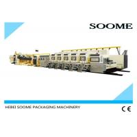 Wholesale Rotary Flexo Printer Slotter Die Cutter , Fully Automatic Printer Slotter Corrugated  Machine from china suppliers