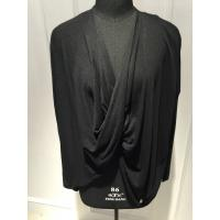 Wholesale Ladies Batwing Sleeve Cowl Neck Pullover With Knitted Viscose Cotton Material from china suppliers