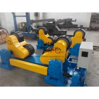 Wholesale Black PU Wheel Automatic Pipe Welding Rotator 60T Rotary Capacity from china suppliers
