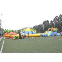 Wholesale Waterproof Commercial Water Inflatable Theme Park With Plato PVC Tarpaulin from china suppliers