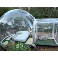 Wholesale Transparent Lawn Outdoor Inflatable Tent Clear Inflatable Camp Tent For Family from china suppliers