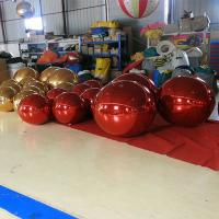 Buy cheap Colorful Inflatable Mirror Ball For Big Event / Outdoor Balloons Advertising from wholesalers