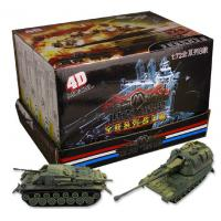 Wholesale Supply 4D model assembled from the fight military tank model series self-loading model from china suppliers