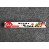 China High Quality Household Aluminum Foil Paper Baking Paper For Barbeque 30cm 10m 10micron Thickness for sale