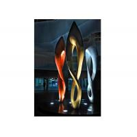 Wholesale Painted Number Eight Stainless Steel Sculpture for Modern Outdoor Decoration from china suppliers