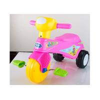 Colorful Plastic Kids Ride On Toys Tricycle Balance Sliding With Removable Pedal for sale