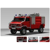 China Emergency Fire Engine Vehicle For Fire Rescue 115km/H Highest Speed for sale