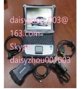 China Maserati Diagnostic Tool with Panasonic CF 19 Software Installed Maser on sale