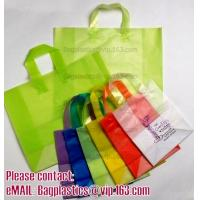 Wholesale Shopper, Shopping bags, Soft loop handle, Die cut handle, Flexi loop handle, Thermal bags from china suppliers
