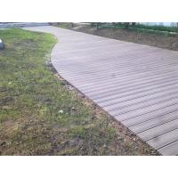Wholesale Fire - resistant Exterior Veneer Composite Deck Tiles For Lawn And Balcony from china suppliers