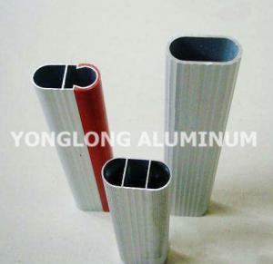 Quality Square Wardrobe Aluminium Frame Profile For Decorative Material / Aluminum for sale