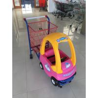 Buy cheap 95 L Basket Volume Childrens Metal Shopping Trolley Travelator Casters CE / GS / from wholesalers