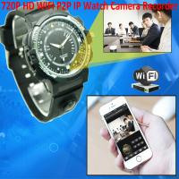 Wholesale Y30 8GB 720P WIFI P2P IP Spy Watch Hidden Camera Recorder IR Night Vision Motion Detection Remote Video Monitoring from china suppliers