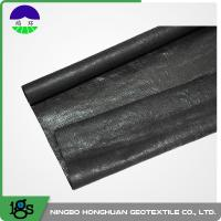 Wholesale 210g Black High Strength Circle Loom Polypropylene Woven Geotextile Filter Fabric from china suppliers