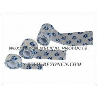 Wholesale Paw Prints Vet Wrap Cohesive Flexible Bandage Provide Firm And Max Compression from china suppliers