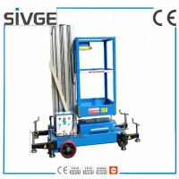 Wholesale 6 Meters Aerial Lift Platform Trailer Mounted Aerial Platform Lift In Blue Color from china suppliers