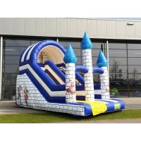 Wholesale Small Single Lane Commercial Inflatable Slide With Castle Theme For Amusement Park from china suppliers