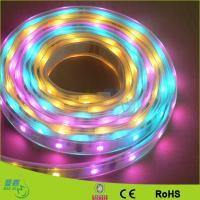 China Warm White Flexible Led Ribbon Strip Lights , SMD 5050 / 3528 Led Tape Lighting for sale