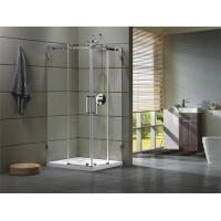 Buy cheap Corner Shower room 304 stainless steel Rail bar Material for bathroom 100X100X195/cm from wholesalers